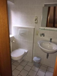 Ванная комната в Altes Bierhaus