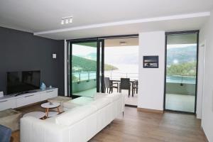 A seating area at Rusmarin Premium Suite