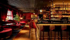 The lounge or bar area at Provocateur Berlin