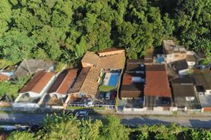 Uma vista aérea de Pousada Porto Paraiso