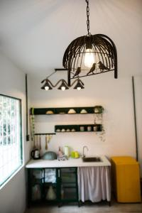 A kitchen or kitchenette at Lab House /Apartment