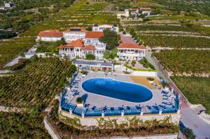 A bird's-eye view of Pansion Villa Antonio