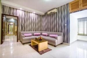A seating area at Ascott The Residence Dhaka