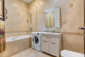 A bathroom at Апартаменты у моря Магнолия