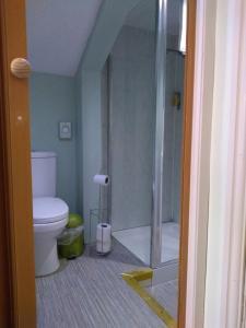 A bathroom at The Reindeer Inn