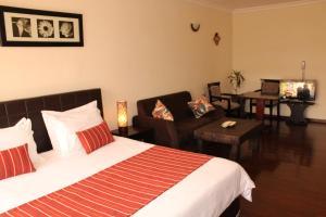Brooklyn Hotel Addis Ababaにあるベッド
