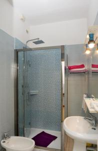 Ванная комната в Hotel Puntabella