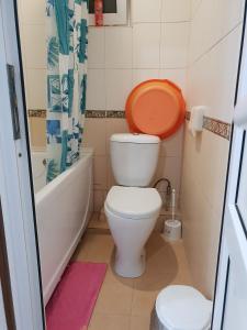 Ванная комната в Гостевой дом Ласковое море