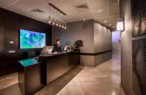 The lobby or reception area at Vital Hotel - Business Boutique Hotel