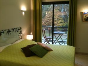 Un ou plusieurs lits dans un hébergement de l'établissement La Villa Antalya