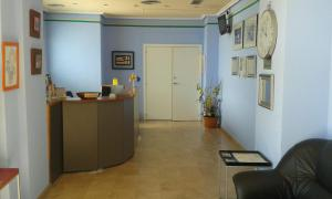 The lobby or reception area at Hotel Cogullada