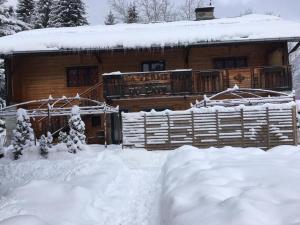 L'établissement La Ferme du Lays en hiver