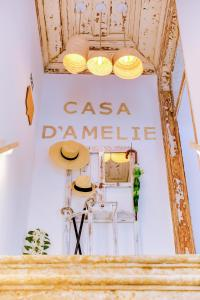 The floor plan of A Casa D'Amelie