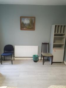 A seating area at Cardiff Stadium Guest House