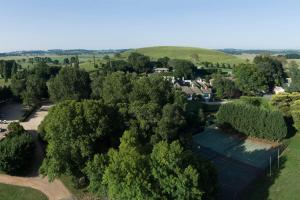 A bird's-eye view of Peppers Manor House