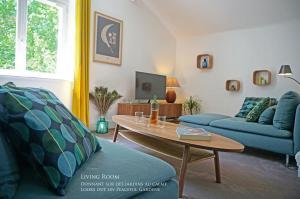 Zona de estar de JUST LIKE HOME BIARRITZ - Private Parking - Free E-Bikes - Welcome Breakfast