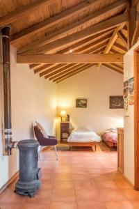 Uma cama ou camas num quarto em Quinta da Mata