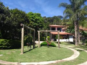 Children's play area at Chácara do Delei