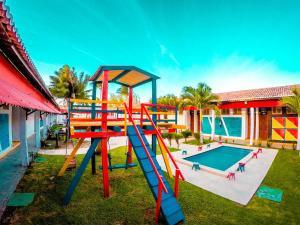 Children's play area at Ilha Praia Hotel