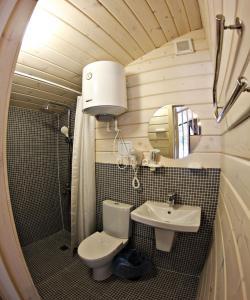 A bathroom at Eco Mini-Hotel Alteria