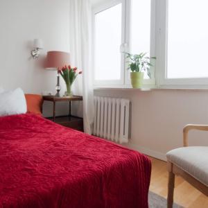 Postel nebo postele na pokoji v ubytování City Center - Smolna Apartament