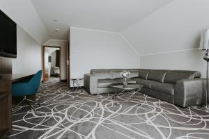 Część wypoczynkowa w obiekcie Hotel Nad Nettą