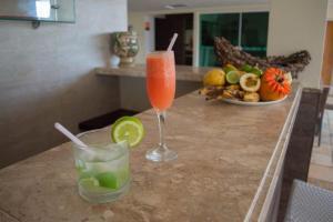 Drinks at Calhau Praia Hotel