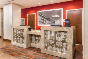The lobby or reception area at Hampton Inn Manhattan Grand Central