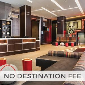 The lobby or reception area at Four Points by Sheraton New York Downtown