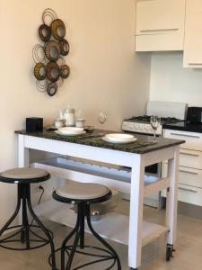 A kitchen or kitchenette at Loft Studio in Santo Domingo
