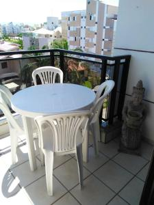 Un balcón o terraza de APARTAMENTO 1quarto COM VISTA PARA O MAR