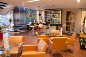 The lounge or bar area at Bristol Portal do Iguaçu Hotel