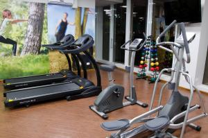 The fitness center and/or fitness facilities at Bristol Portal do Iguaçu Hotel