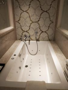 "A bathroom at Fragrant Nature Munnar - ""A Classified Five Star Hotel"""