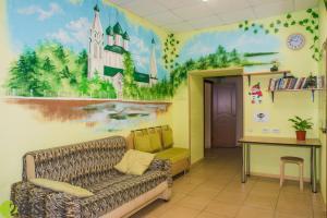 Гостиная зона в Hostel Svoboda 9 Yaroslavl