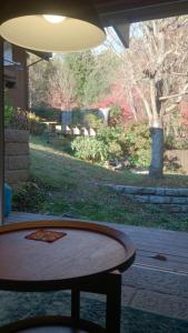 多治見ゲストハウスにある庭