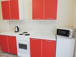 A kitchen or kitchenette at Centr goroda Shorsa 8M