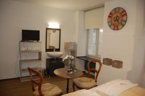 Uma área de estar em Hotel Zak Schaffhausen