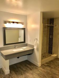 A bathroom at Motel 6-Inglewood, CA