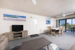 A television and/or entertainment center at Ocean Crest 10