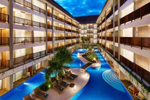 A view of the pool at Four Points by Sheraton Bali, Kuta or nearby