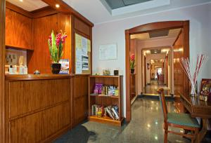 The lobby or reception area at Hotel Ercoli House