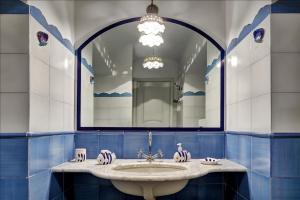 A bathroom at Il Dolce Rifugio