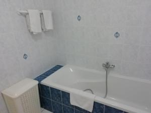 A bathroom at Vintage Apartment In Quend-Plage-les-Pins with Swimming Pool