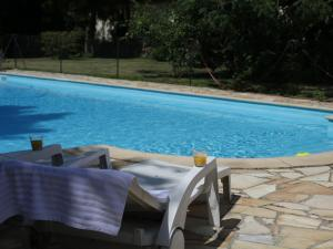 The swimming pool at or near Vintage Apartment In Quend-Plage-les-Pins with Swimming Pool