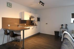 Een keuken of kitchenette bij 32 De Overtoom