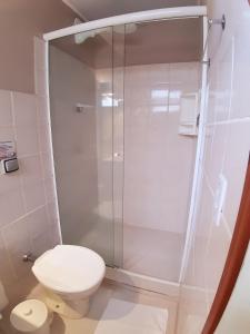 A bathroom at Pouso Atobá