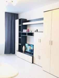 A kitchen or kitchenette at Apartments CITY