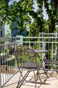 A balcony or terrace at Hotel Spiess & Spiess