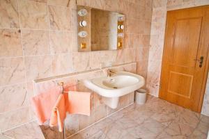Ein Badezimmer in der Unterkunft Waldhotel Stein